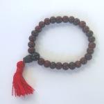 Tibetan Rosewood Mala Bead Bracelet