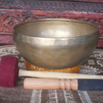 "Blissful Pema Collection 8.5"" TIBETAN SINGING BOWL #1771"
