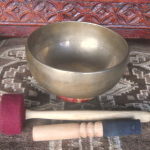 "Very Subtle Pema Collection 8"" TIBETAN SINGING BOWL #8603"