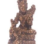 Brass Tibetan Green Tara Goddess Deity Statue