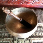 """Blissful Ethereal Hand Pounded 6.5"""" TIBETAN SINGING BOWL #1949"""