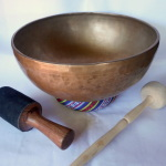 "Ultimate Tibetan 13.5"" Singing Bowl in the Universe #230350"