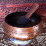 Small Tantric Singing Bowl