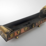 Tibetan Mantra Copper Incense Burner I
