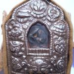 Manjushri BUDDHA Gau Ghau Silver Prayer Box