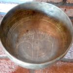 Tantric Empowered Tibetan Singing Bowl 82205