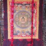 Sri Yantra Thangka Painting #106225