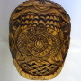 Ritual Tibetan Carved Scull