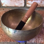 Old Hand Pounded Tibetan Singing Bowl 12449