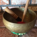 """100 Year Old Very Rare Antique 8.5"""" Tibetan Singing Bowl #9983 Video Demo This is a very rare and powerful sound healing Tibetan Singing Bowl. It is around 100 years old. We only have one. Please check out video below.The Singing Bowl comes with a two special playing mallets. The hardwood Playing Mallet is suede wrapped for playing around the rim.I will also give you a percussion """"Bonger"""" to bring out deeper sounds. This gives you two ways to play your Singing Bowl for a variety of Meditative and Healing sounds. Bowl measures 8.5"""" across and 4.5"""" deep. Comes with beautiful silk cushion to set your bowl on. Weight is a around 2 pounds. Enjoy transformation meditative healing sound with this bowl! To hear the singing bowl please click on the link below: SEE SINGING BOWL VIDEO HERE The secret science of Tibetan Bowls is still a mystery to the West since the Tibetan monks aren't talking about it to the uninitiated. The Singing Bowl Book by Eva Rudy-Jansen, however, explains a lot of the lore that is available about them. A special type of alchemical metallurgy is used that combines various metals, apparently having to do with the energies of different planets. According to tradition, the bowls are made of seven metals each corresponding to the following planets: Sun - gold, Moon - silver, Mercury - mercury, Venus - copper, Mars - iron, Jupiter - tin, and Saturn - lead.p There are a lot of Singing Bowls on ebay and we understand how hard it is to choose. Our guarantee is that this will be an outstanding and exceptionally good sounding Singing Bowl. It was carefully chosen and played by me for you. I want these beautiful Singing Bowls to go to the right people who will benefit all sentient beings with their vibration. These Singing Bowls may cost a little more then your average eBay Singing Bowl because our cost are quite high for this quality and it's worth it! PLEASE CHECK OUT SOME OF OUR OTHER SINGING BOWLS AND TIBETAN RITUAL OBJECT ON EBAY!FOR THE SECRETS OF THE HIMAL"""